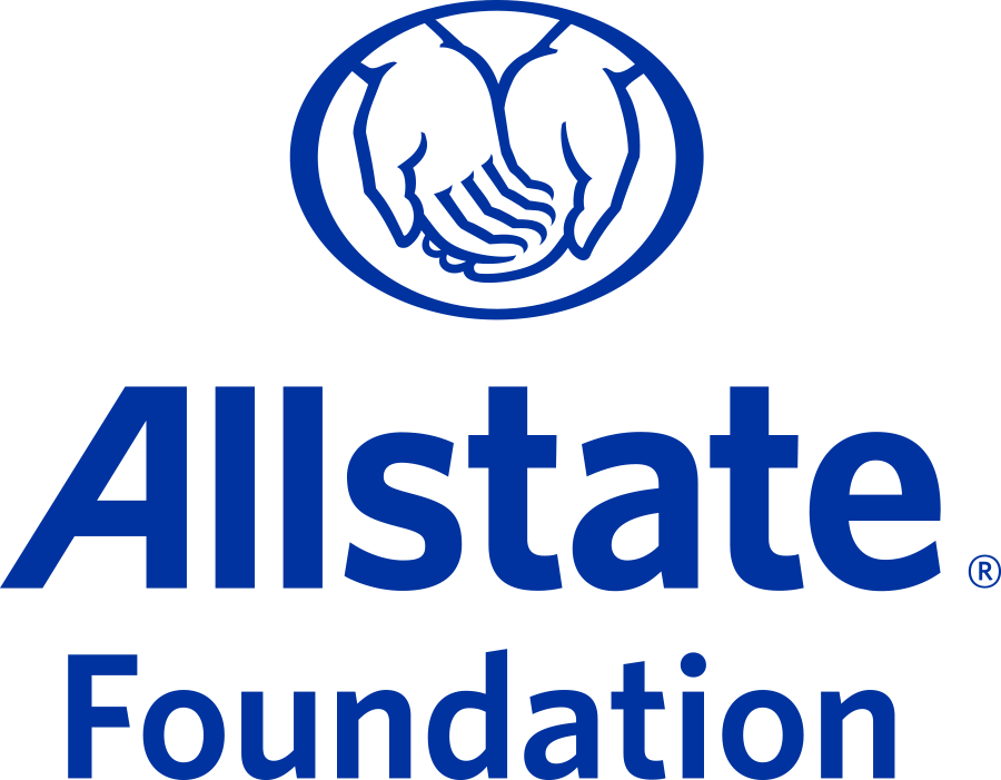 The logo for Allstate Foundation.