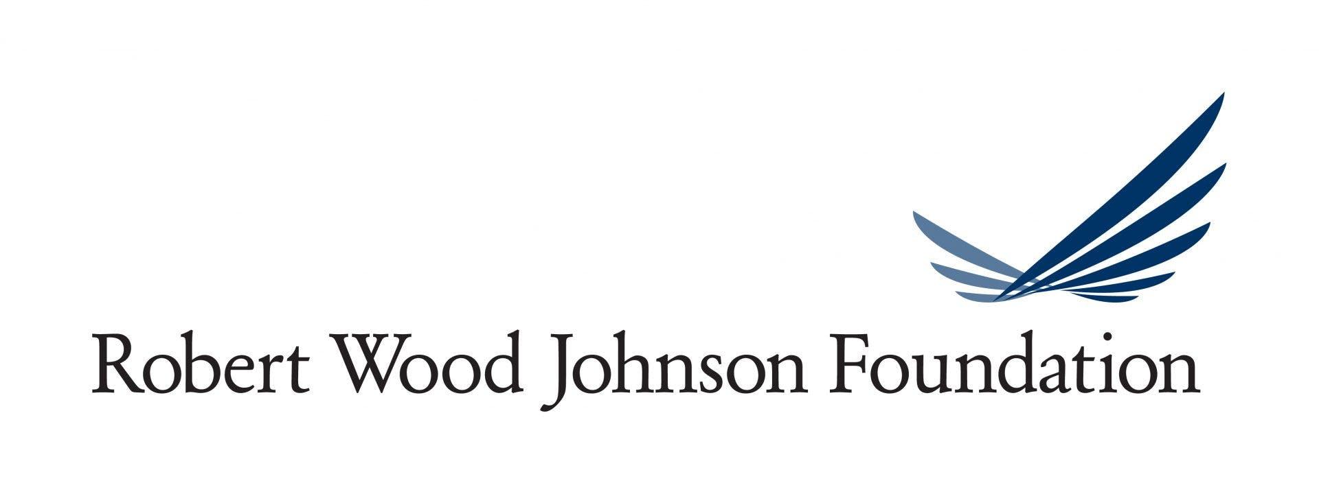 The logo for the Robert Wood Johnson Foundation.