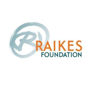 The logo for the Raikes Foundation.